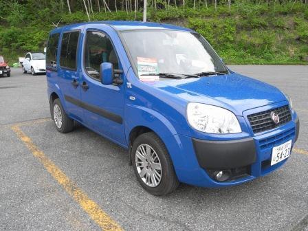 FIAT 新モデル DOBLO(ドブロ)