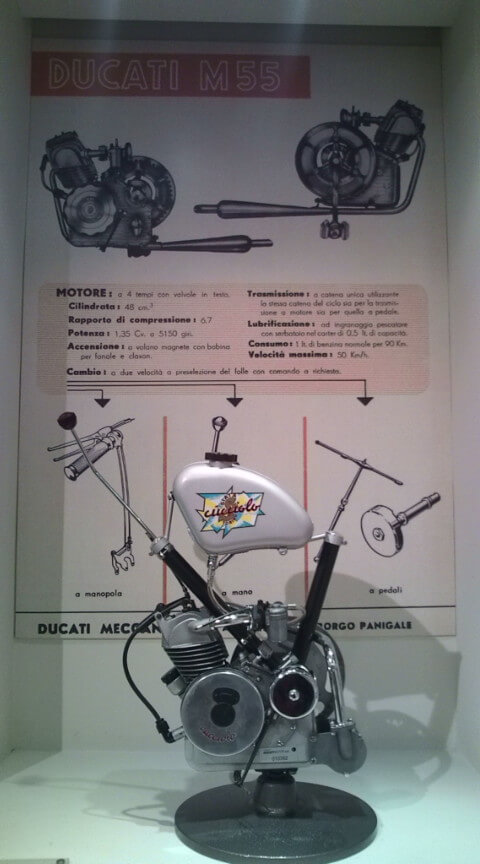 小型エンジン「クッチョロ」