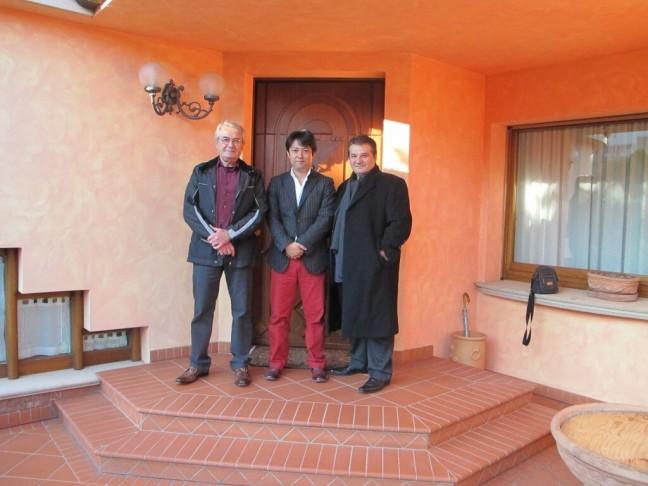 マッシモ・タンブリーニ氏、アンドレア・タンブリーニ氏と一緒に