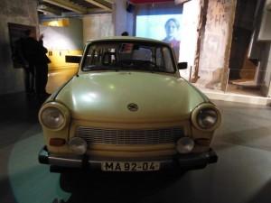 旧東ドイツで生産されていたトラバント(Trabant)P601