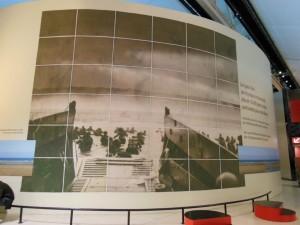 上陸作戦時の大きなパネル