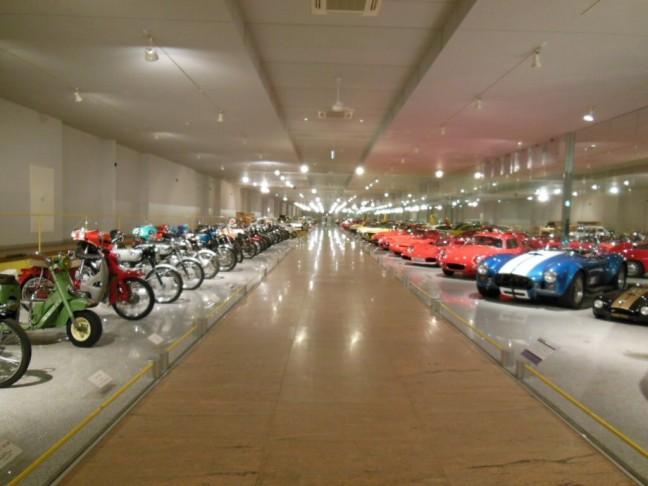 四国自動車博物館 館内