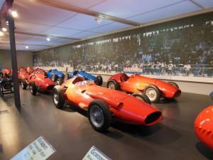 レーシングマシンのコーナー