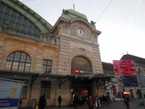 スイス・バーゼル駅