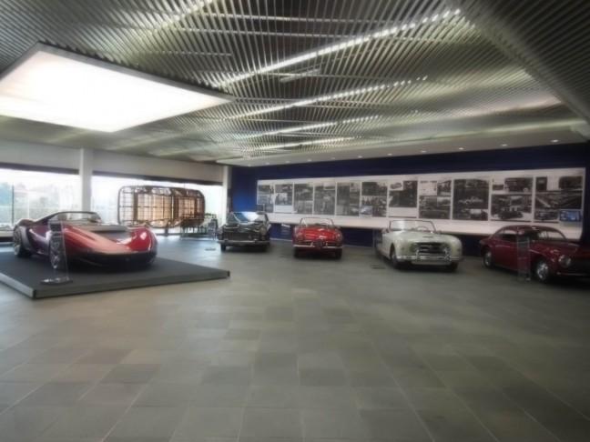 Pininfarina本社 ミニミュージアム