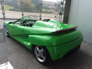Pininfarinaが開発している電気自動車