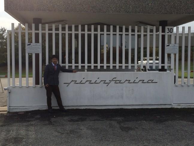 ピニンファリーナ社の正面玄関