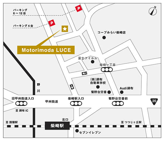 Motorimoda LUCE MAP