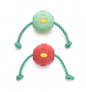 Vibram Pet Toy - Ball with Rope