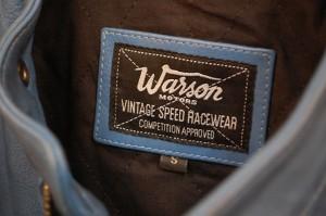 Warson Motors - MOTORCYCLE LEATHER JACKET