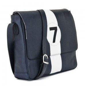 Messenger Bag - blue 7