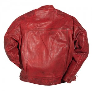 Warson Motors - MOTORCYCLE LEATHER JACKET (レッド)
