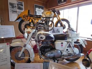 浅間記念館 二輪車展示館