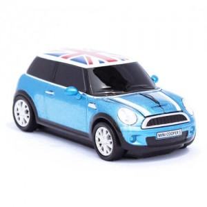 CLICK CAR MOUSE - MINI/COOPER S - PC用マウス - BLUE