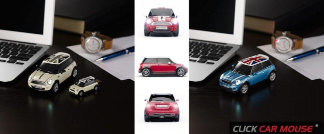 CLICK CAR MOUSE - MINI/COOPER S - PC用マウス