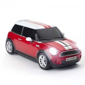 CLICK CAR MOUSE - MINI/COOPER S - PC用マウス - RED