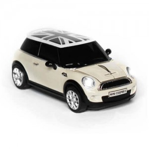 CLICK CAR MOUSE - MINI/COOPER S - PC用マウス - WHITE