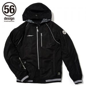 56design-sline-mesh-parka-md-black