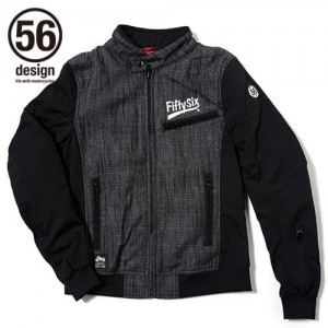 56design-rline-cotton-jacket-md-black