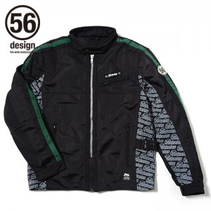 56design-rline-mesh-jacket-md-green