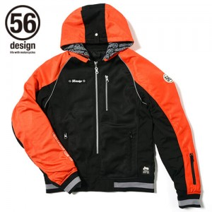 56design-sline-mesh-parka-md-orange