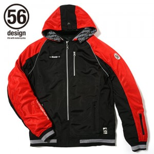 56design-sline-mesh-parka-md-red