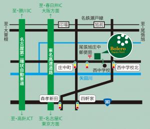 bolero-nagoya-nord-map
