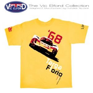 hunziker-Vic-Elford-Porsche 907-T-Shirt