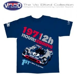 hunziker-Vic-Elford-Sebring 71-T-Shirt