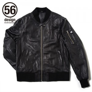 56design_r_line_light_leather_jaket_black