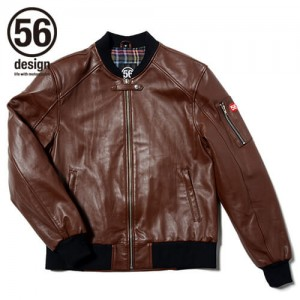 56design_r_line_light_leather_jaket_brown