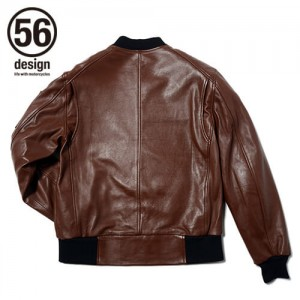 56design_r_line_light_leather_jaket_front