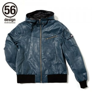 56design_s_line_light_leather_parka_blue