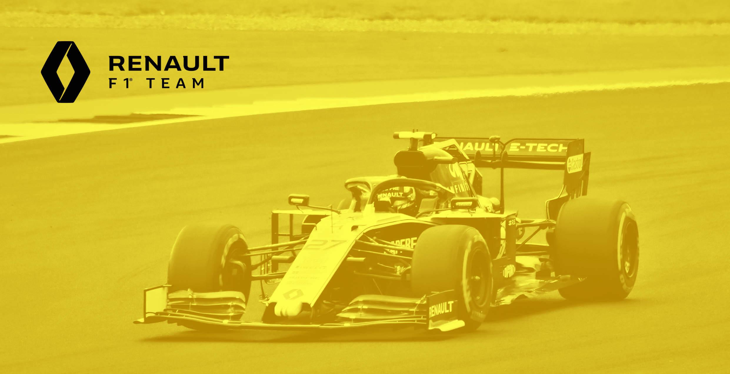 RENAULT F1 TEAM 2019