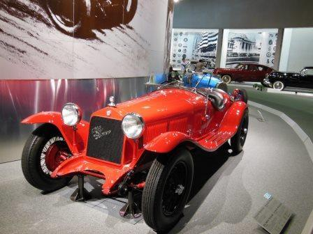 アルファロメオ6Cグランスポルト(1930年式)