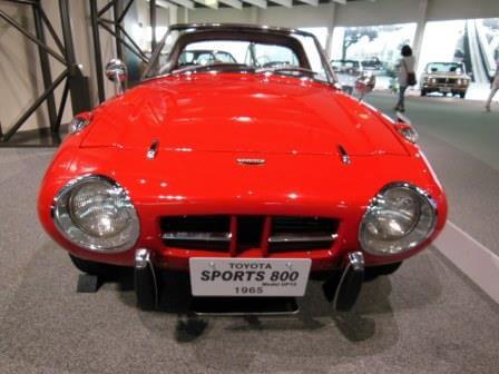トヨタスポーツ800(1965年式)