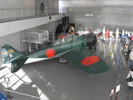 琵琶湖に不時着し、1978年に引き上げられた零戦