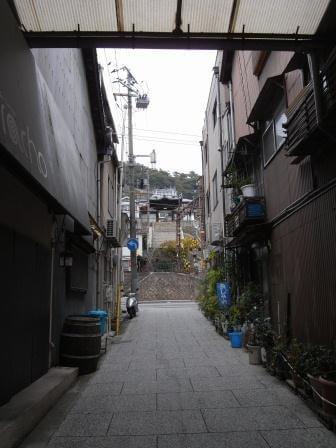 「坂の街」とも言われる尾道