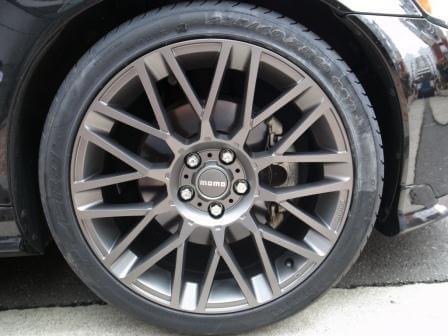 タイヤとホイールのセットアップ