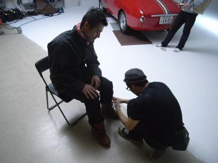Motorimodaカタログ撮影レポート